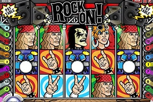 rock on slot