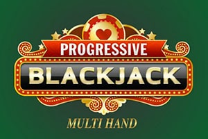 progressive  blackjack playtech