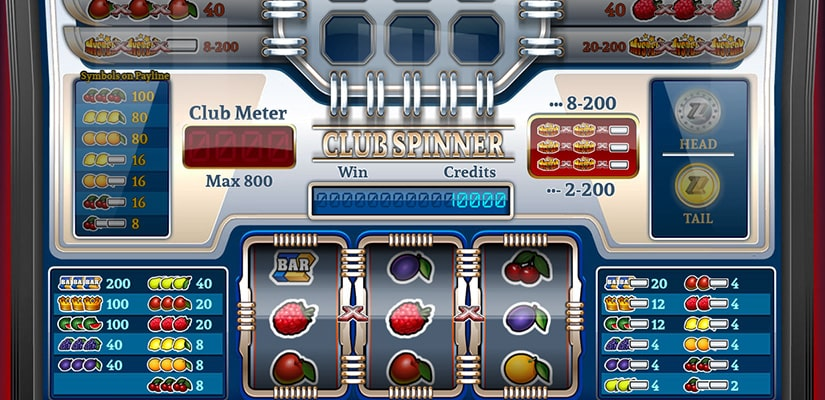 Club Spinner Slot