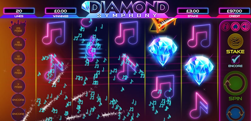 Spiele Symphony Of Diamonds - Video Slots Online