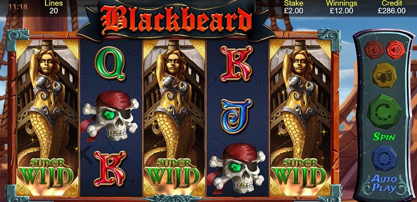Blackbeard Slot