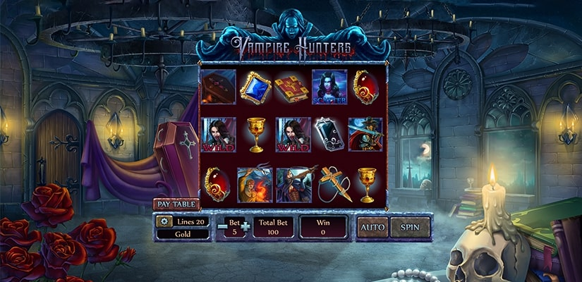 Vampire Hunters Slot Review