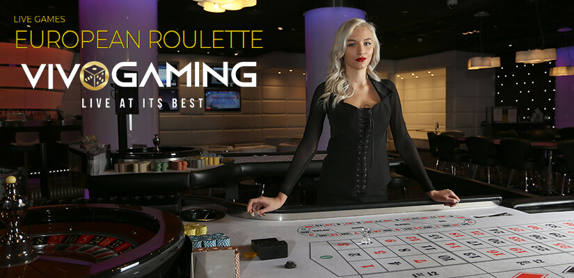 European Roulette by Vivo Gaming