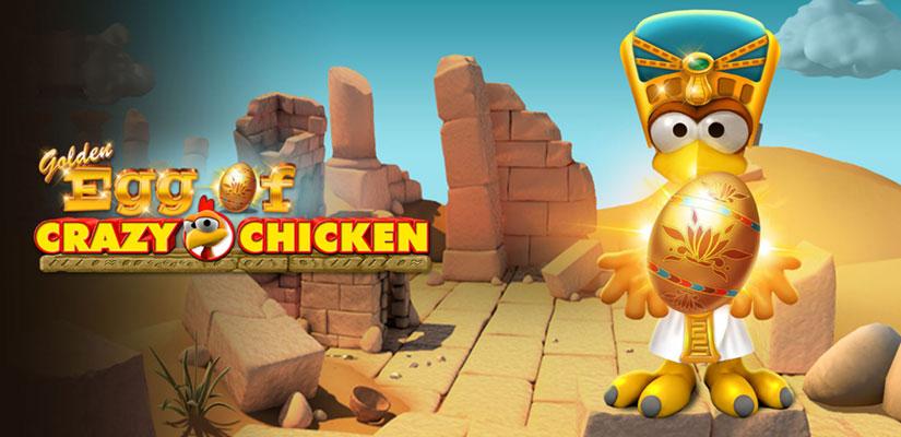 Golden Egg of Crazy Chicken Slot Review