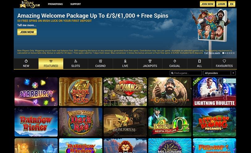 Mr Vegas Casino Review Bonuses Software And Games