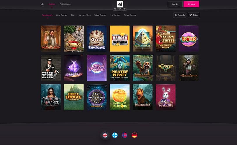 PlayGrand Casino Bonuses 2019