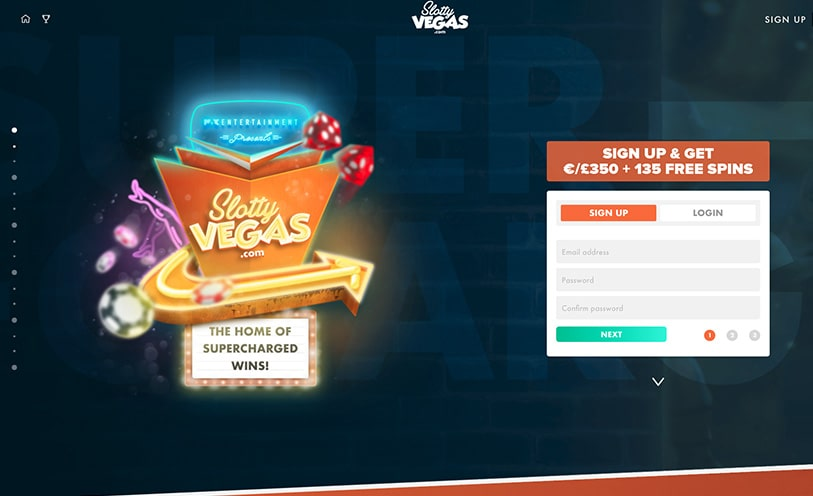 Slotty Vegas Casino Review - Bonuses, Software and Games
