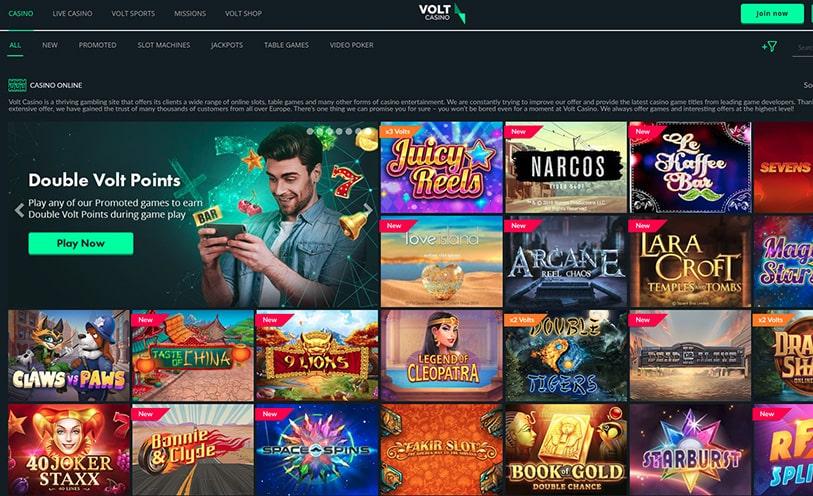 Volt Casino Login